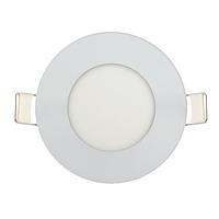 Врезной потолочный светодиодный светильник 3W 4000K Ø85круглый BIOM