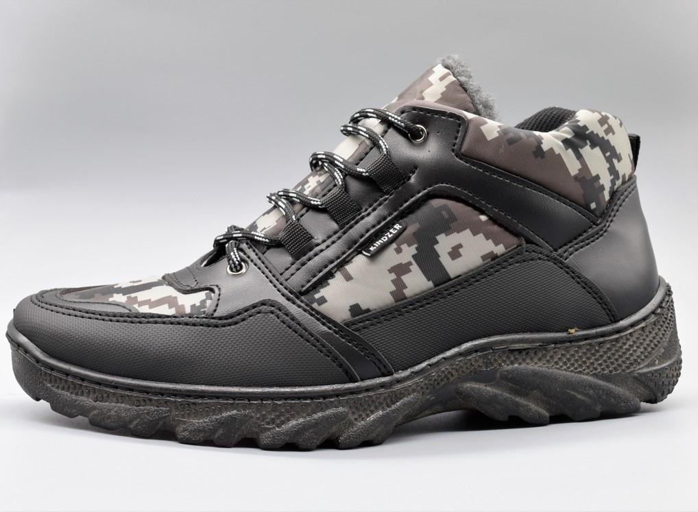 Черевики ботинки зимові чоловічі камуфляж