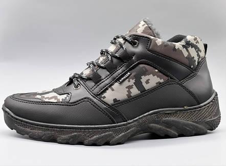 Черевики ботинки зимові чоловічі камуфляж, фото 2