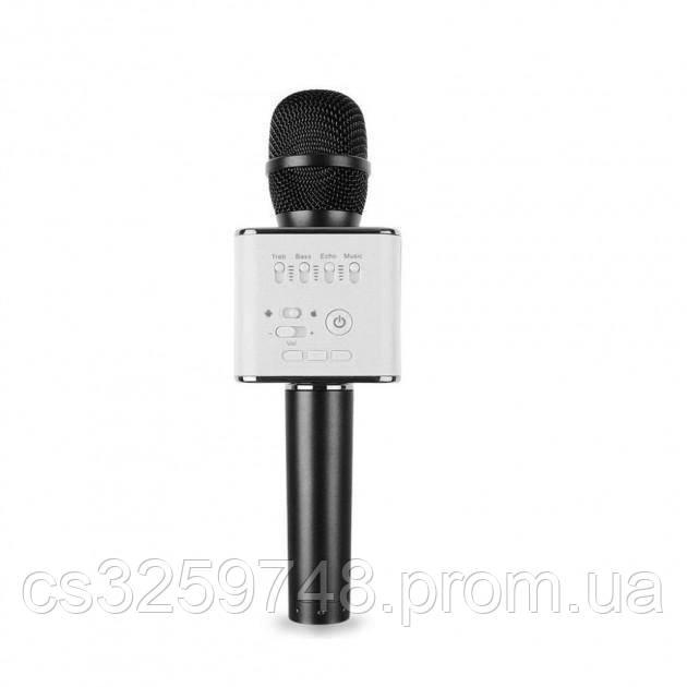 Портативный караоке микрофон UTM Q9 с чехлом Black