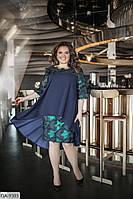 Нарядное женское платье большие размеры Г05102, фото 1