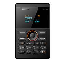 Мини телефон iFcane E1 картфон, телефон кредитка