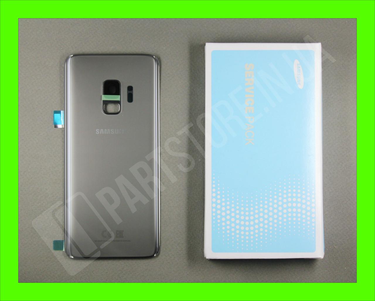 Cервисная оригинальная задняя Крышка Samsung G960 Grey S9 (GH82-15926C)