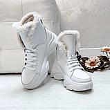 Ботинки из натуральной кожи с мехом, фото 2
