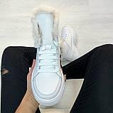 Ботинки из натуральной кожи с мехом, фото 3
