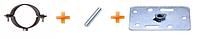 Держак труби PROFiL для вент. фасадів 130 графітовий