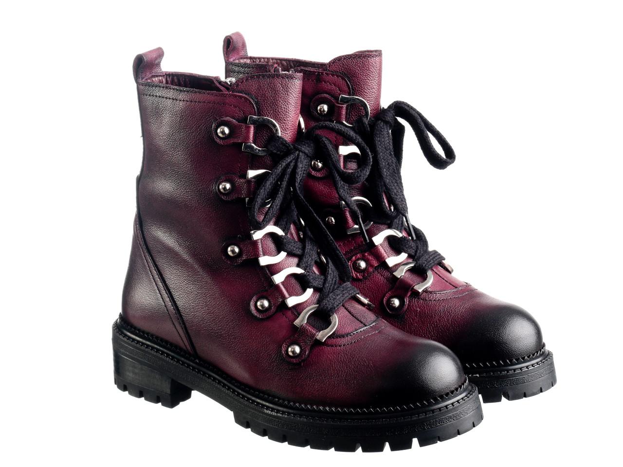 Ботинки Etor 7017-7495-604 бордо, фото 1