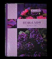 "Книга обліку ""BOHO CHIC"" 96 арк/кліт.оф.(тв. лам. обкл), А4, фіолетовий"