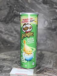Чіпси Pringles Sour Cream & Лук 165 грм