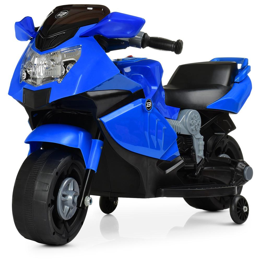 Электромобиль Мотоцикл M 4160-4 синий BAMBI