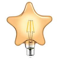 Лампа FILAMENT LED Звезда 6W 2200K E27