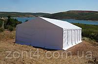 Шатер 6х12 ПВХ, торговый павильон, садовая палатка, тент, ангар, палатка для кафе, фото 10