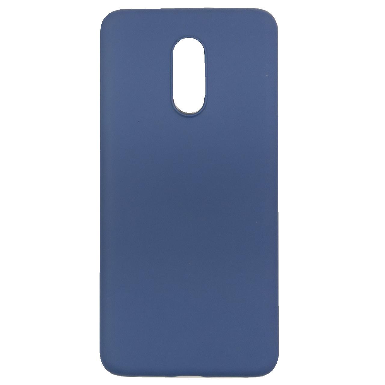☄Силиконовый чехол C-KU SS01 для смартфона OnePlus 7 Blue надежная защита от повреждений