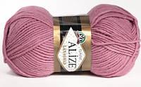 Пряжа для ручного вязания Alize LANAGOLD (Ализе ланаголд) 28 роза