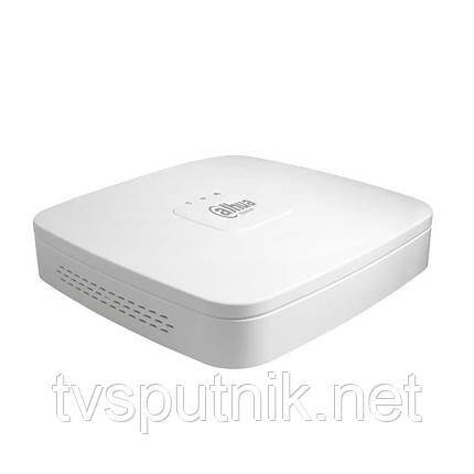 Сетевой видеорегистратор Dahua DHI-NVR2104-4KS2 4-канальный Smart 4K, фото 2
