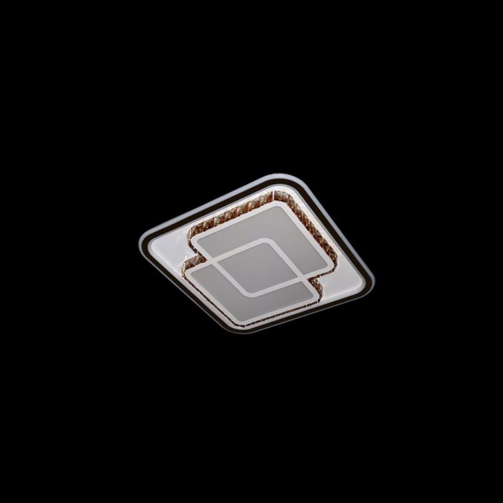 Круглая светодиодная люстра СветМира хром 115 Вт  LS-4123