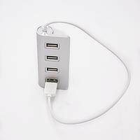 USB-хаб  4 Ports Silver