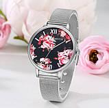 Наручний годинник з квітами, фото 8