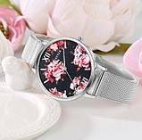 Наручний годинник з квітами, фото 9