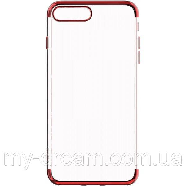 Чехол-накладка Baseus TPU Shining Case iPhone 7 Plus Red