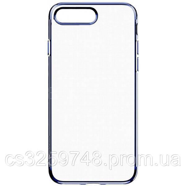Чехол-накладка Baseus TPU Shining Case iPhone 7 Plus Dark Blue
