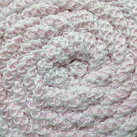 Трикотажная пряжа Therapy Yarn Suslu с люрексом Розовый нежный