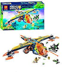 """Конструктор """"Nexo Knight: самолёт и мотоцикл"""", 588 дет 10818"""