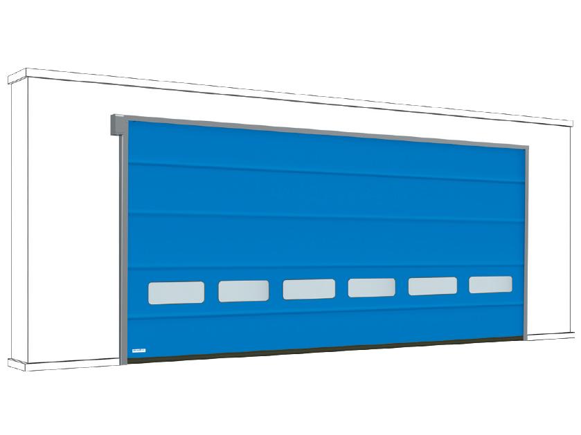 DoorHan SpeedFold SDFB — Скоростные складывающиеся ворота