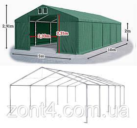 Шатер 5х10 ПВХ для летнего бара и кафе, торговый павильон, ангар, тент, гараж, садовая палатка