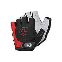 Велоперчатки, перчатки для велосипеда MOKE, красные(11111942025)
