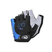 Велоперчатки, перчатки для велосипеда MOKE, синие (11111942027)