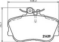 Комплект тормозных колодок, дисковый тормоз 986460977 BOSCH