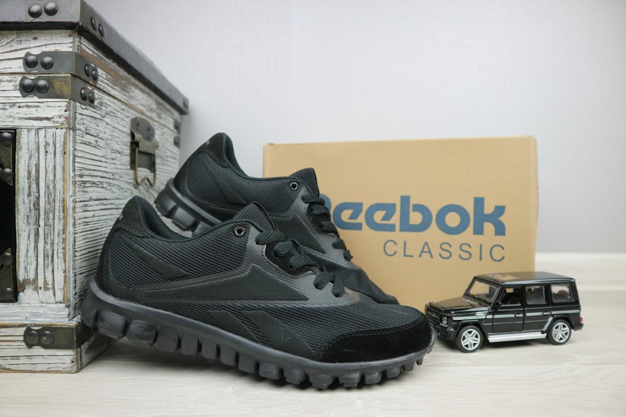 Кроссовки мужские Classica 283 черные (текстиль, лето)