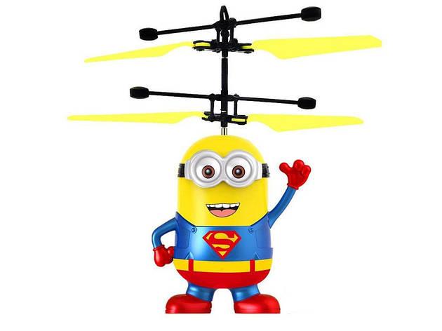 Летающая игрушка Миньон Супермен 388C, фото 2