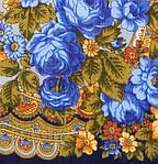 "Павлопосадский шерстяной платок ""Серебро"" размер146х146 см. рис.1243-14, фото 3"