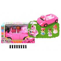 Набор с куклой ЛОЛ YM11-607 автомобиль трансформируется, с аксессуарами, кукла в наборе, в коробке