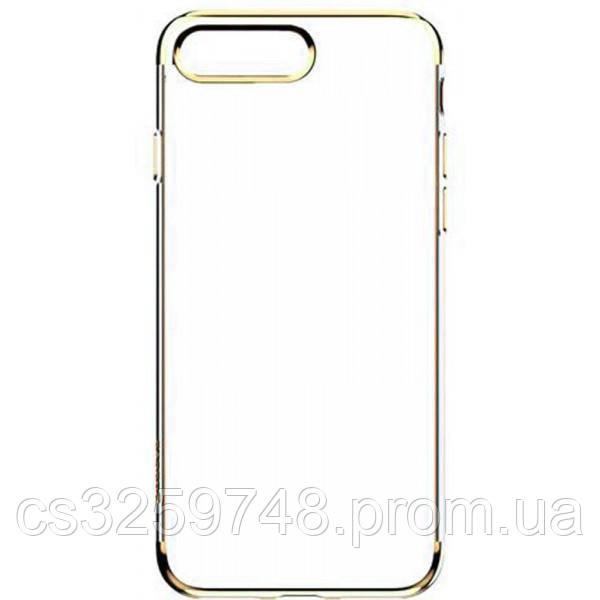 Чехол-накладка Baseus TPU Shining Case iPhone 7 Plus Gold