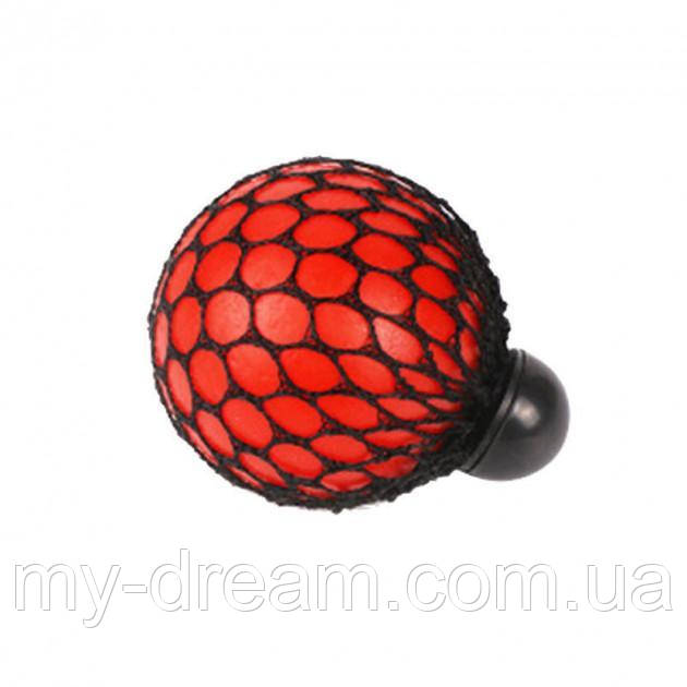 Мяч антистресс UTM Mesh Squishy Ball Red