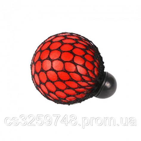 Мяч антистресс UTM Mesh Squishy Ball Red, фото 2