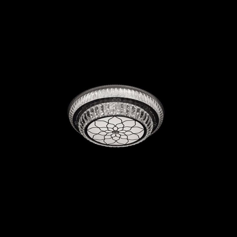 Круглая светодиодная люстра СветМира хром 120 Вт 500 мм. LS-2199-3/500