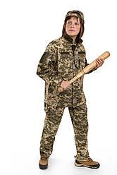 Военная форма для детей костюм Киборг 2 камуфляж Пиксель копия взрослого костюма