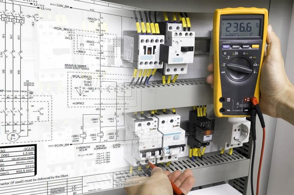 Монтаж щитового оборудования и шкафов автоматики