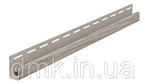 """Планка FaSiding WoodHouse """"J-trim"""" """"Дуб морений"""" SVP-15, 3.05м"""