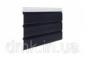 Софит панель ASKO NEO графит без перфорации 3.5 м, 1.07 м2