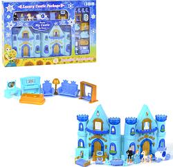 Детский игровой набор для девочки.Замок Принцессы музыкальный.