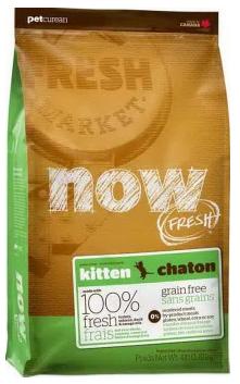 Сухой корм NOW Fresh Grain Free Kitten Recipe 33/20 для котят всех пород