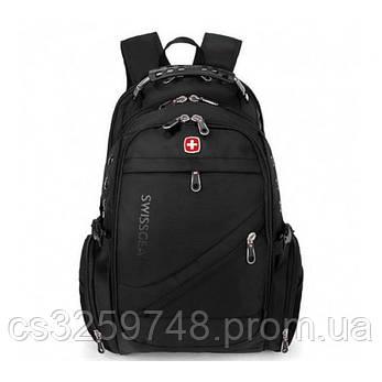 Стильный рюкзак Swiss Bag UTM 8810 с замком Black, фото 2