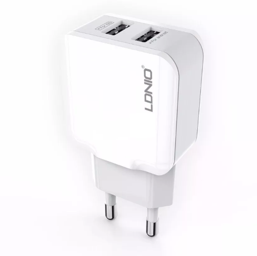 Автомобільна USB зарядка LDNIO A2202 2.4 A