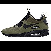 """Мужские зимние кроссовки Nike Air Max 90Winter """"Khaki"""" ( в стиле Найк )"""