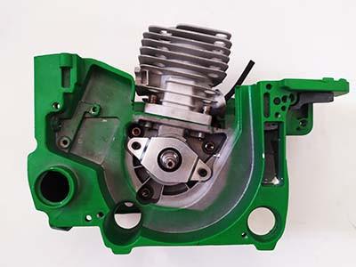 Мотор в сборе к бензопилам моделей 5800 (58 куб. см)